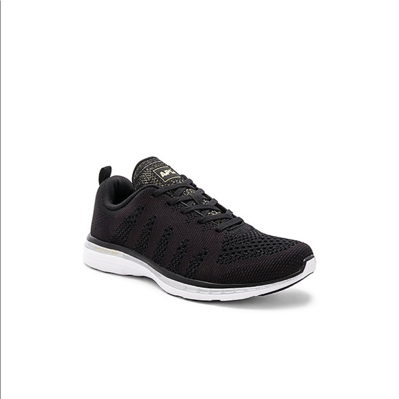 APL Shoes - APL TechLoom Pro in Black & Charcoal& Silver &Gold